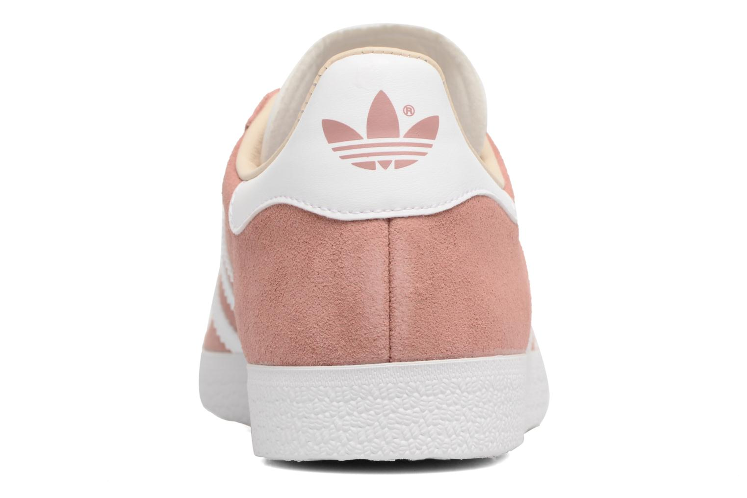 Baskets Adidas Originals Gazelle W Rose vue droite
